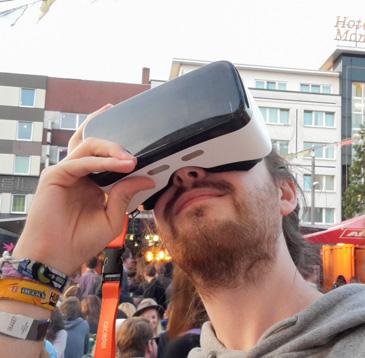 VR Brille Reeperbahn Festival 2016 - katjasays.com