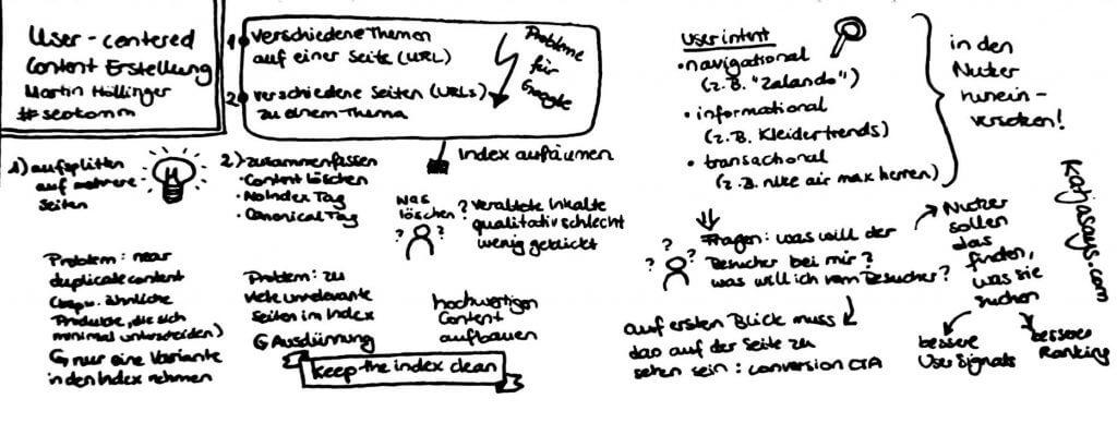 User centered content SEOkomm - Katjasays.com