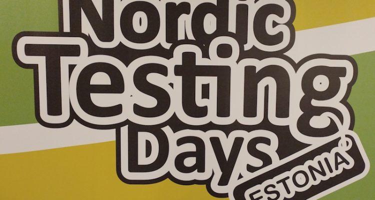Nordic Testing Days 2017