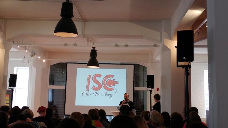Keynote Mike Rhode #isc17HH - Katjasays.com