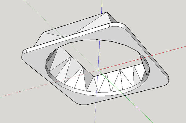 shan shroud screenshot of the cad program