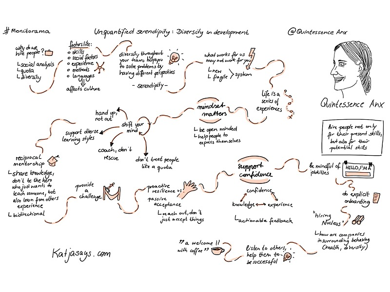 Unquantified serendipity diversity in development #monitorama