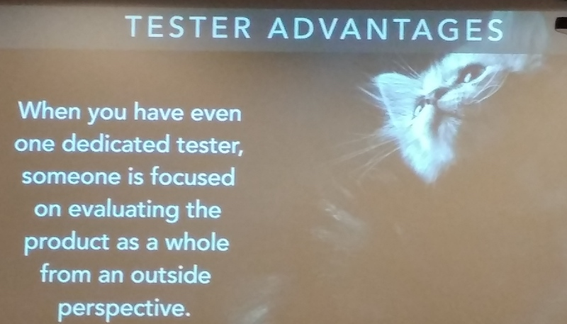 Tester advantages