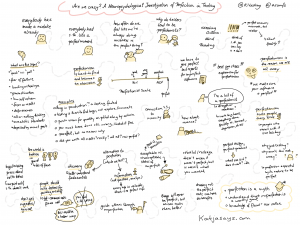 Are we crazy - a neuropsychological investigation of perfection in testing sketchnote